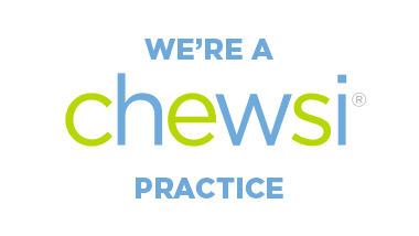 Chewsi Dentist Badge